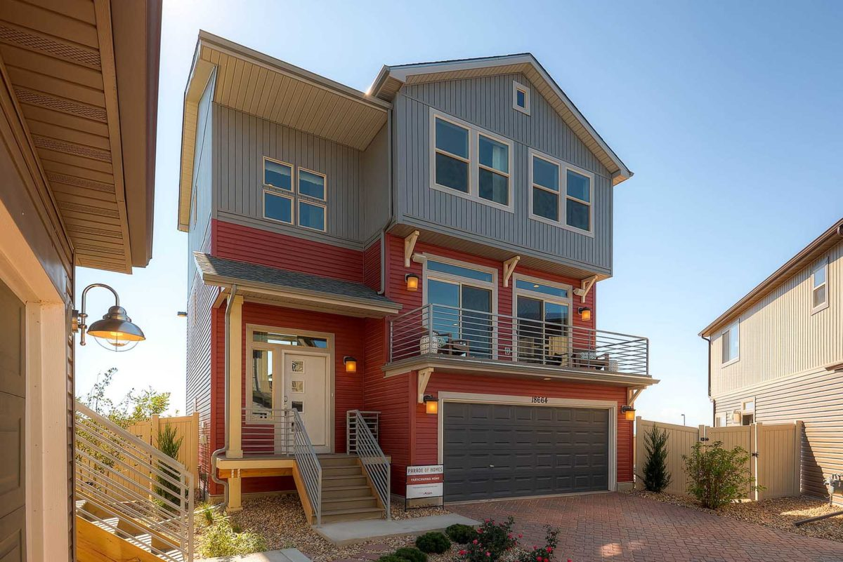 Model homes in green valley ranch co